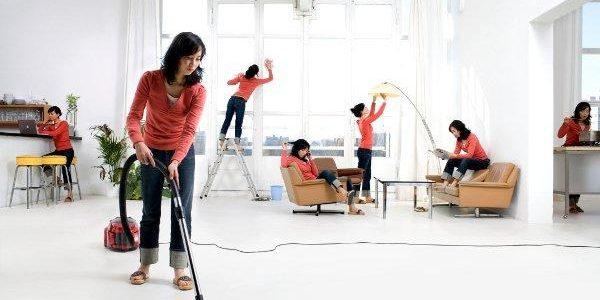 تنظيف المنزل وتعطيره في أسرع وقت
