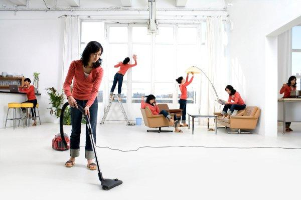 تنظيف المنزل وتعطيره
